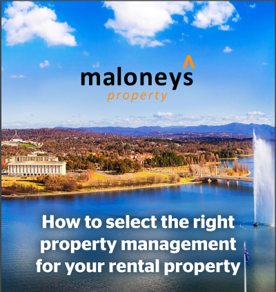 Selecting your Canberra Property Manager